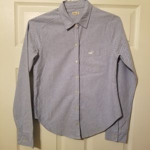 Hollister button up front pocket XS